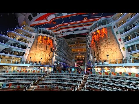 Best Cruise Ships of the World: Allure of the Seas / Royal Caribbean [4k]