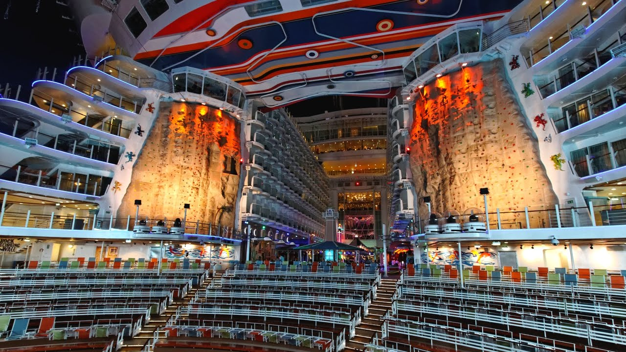 Best cruise ships of the world allure of the seas royal for Best cruise lines in the world