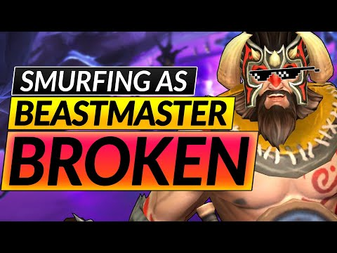 How to RANK UP with EVERY HERO - BEASTMASTER SMURF Builds and Tips ANALysis - Dota 2 Guide