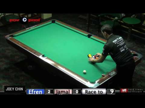 Efren Reyes vs Jamal Oussi - 10 Ball - Jan 2016 / PT #2