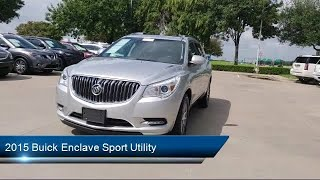 2015 Buick Enclave Sport Utility Leather Group Arlington  Mansfield  Grand Prairie  Dallas  Fort Wor