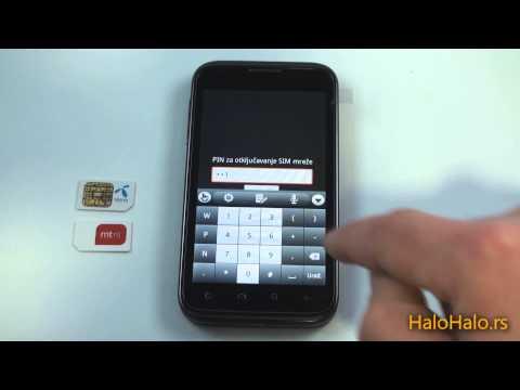 Alcatel OT 995 - Telenor Smart HD dekodiranje pomoću koda