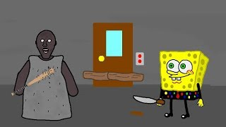 CheeseBob in Granny Horror Game Animation Part 2