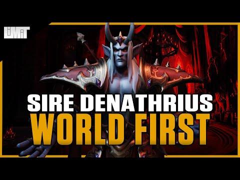 Limit vs Sire Denathrius WORLD FIRST - Castle Nathria