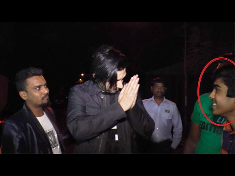 Zayed Khan Gets ANGRY On Reporter Calling Him Zayed BABA