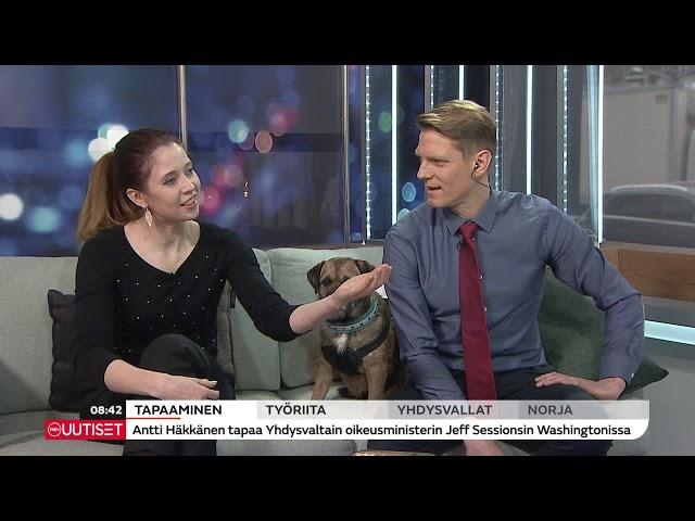 Markku Ojanen MTV:n Huomenta Suomi -ohjelmassa 20.03.2018
