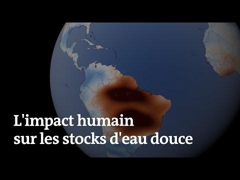 L'activité humaine bouleverse les fluctuations de l'eau sur Terre, selon ces images satellites