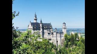 VLOG:Мы в замке Нойшванштайн(Neuschwanstein)//Прогулка.