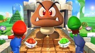 Mario Party 9 MiniGames - Mario Vs Luigi Vs Kamek Vs Yoshi (Master Cpu)