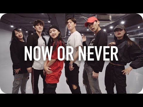 Now Or Never(질렀어) - SF9 / Yoojung Lee Choreography With SF9 영빈, 태양, 찬희