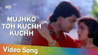 Mujhko To Kuchh Kuchh Hota Hai Tyagi 1992 Song Bhagyashree Himalaya Asha Bhosle Kumar Sanu