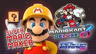 Miércoles: Super Mario Maker / Rondas Mario Kart 8 Deluxe!  #Rev2018