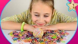 DIY - Попрыгунчик своими руками из 1500 резинок