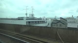 近鉄12200系 モ12253 京橿特急京都⇒橿原神宮前間の車窓