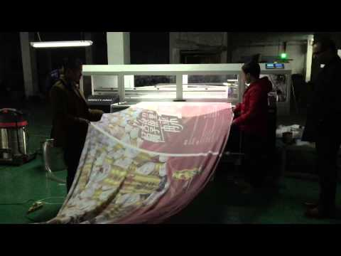 belt type digital textile printing machine with industrial Ricoh gen5 print heads from mingyang