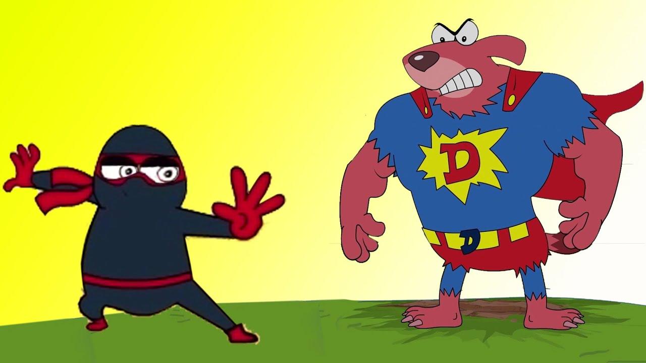 Rat-A-Tat | Superhero Action Laser Attack Ninja Battle Mouse | Chotoonz Kids Funny #Cartoon Videos