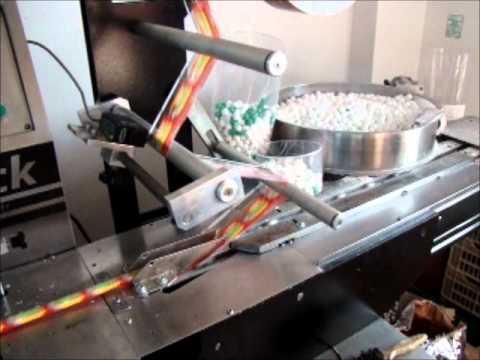 Sakız Paketleme Makinası Yatay Ambalaj Makinası Elitpack