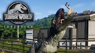Jurassic World Evolution - THE MOST VICIOUS DINOSAUR - Biggest Takedowns