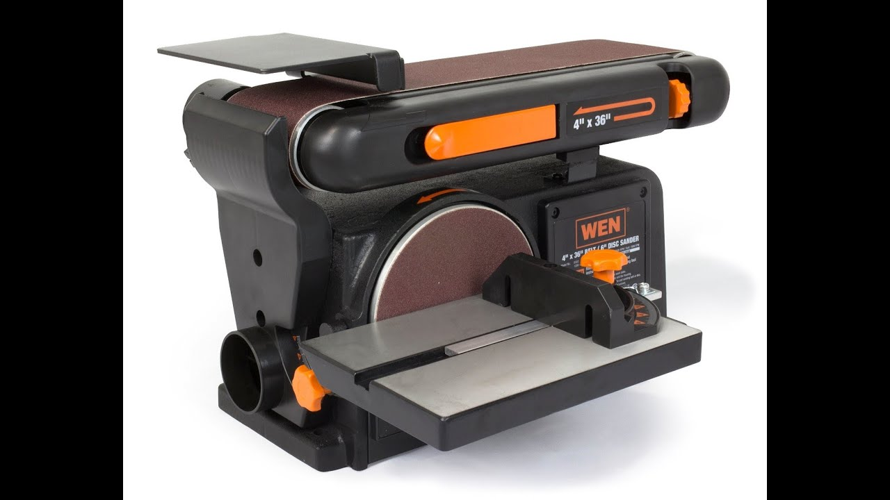 Review Wen 6502 4 X 36 Inch Belt With 6 Inch Disc Sander