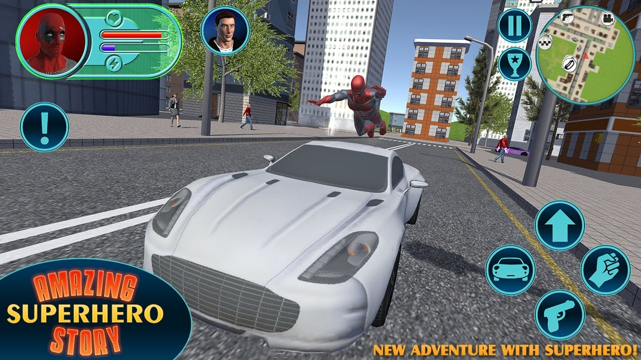 Amazing Super Hero Story ▶️ Best Android-iOS Games GamePlay 1080p(by)