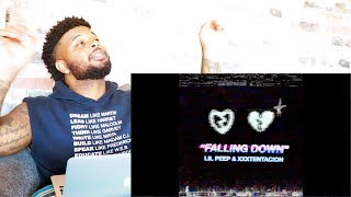 Lil Peep & XXXTENTACION - Falling Down | Reaction