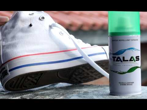 Talas Water Repellent X Converse White CT