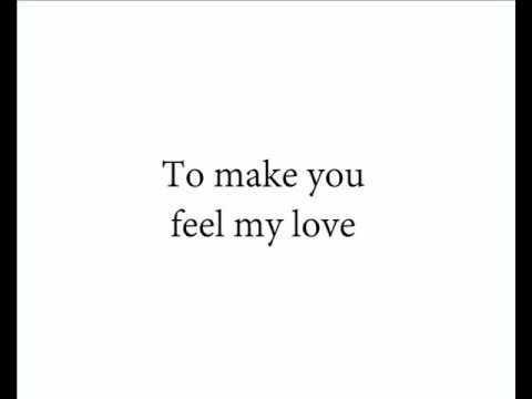 To Make You Feel My Love - Kris Allen HD Lyrics