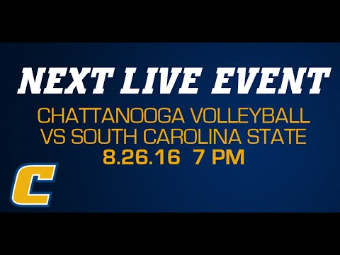 Chattanooga Volleyball vs Mississippi Valley State  - 8/27/16