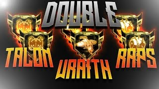 DOUBLE R.A.P.S. DOUBLE WRAITH AND DOUBLE TALON GAMEPLAY || CALL OF DUTY: BLACK OPS 3