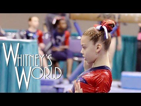 Gymnastics Competition Hair Tutorial | Whitney