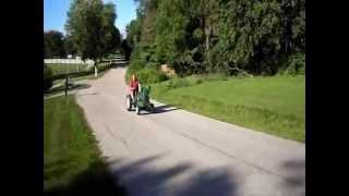 Homemade Garden Tractor Part 2