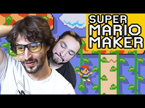 FIRST TIME TWO TIME - 50/50 CHALLENGE SUPER MARIO MAKER