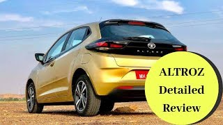 Tata ALTROZ Most detailed video ||Price ||Engine ||TataALTROZ Features
