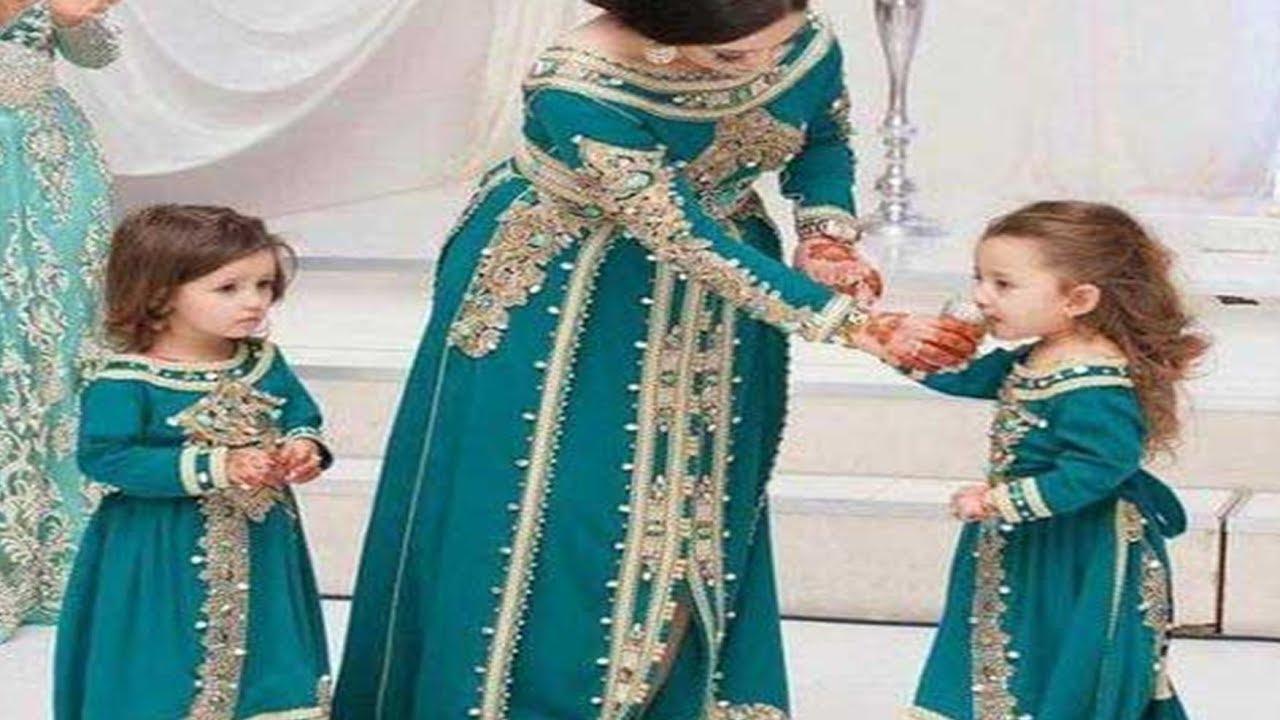 9fb21107e557b موديلات الملابس التقليدية للبنات من قناة مريمة - YouTube
