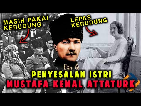 Penyesalan Istri Kemal Ataturk Terbongkar Dalam Catatan Harian, Benarkah?