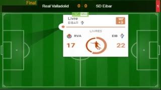 Real Valladolid VS SD Eibar