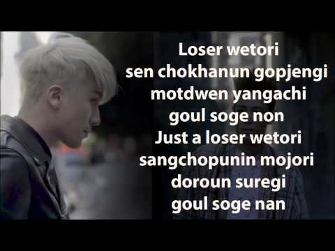 BIGBANG - LOSER easy lyrics
