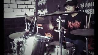 critical sodom - intro + bunuh | ifan (drum cam)