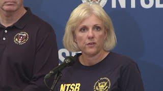 NTSB update on B-17 plane crash