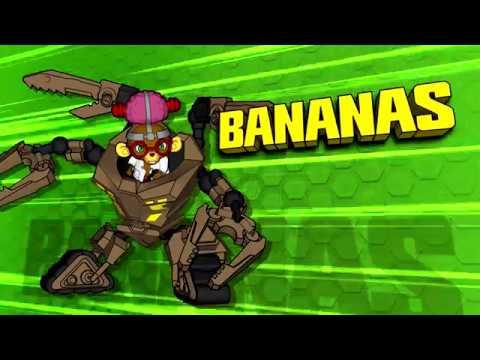 Ready2Robot | Slime Robot Battles | Aflevering 2: Wedgie Vs. Bananas