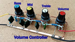 How to make Audio Volume Controller Bass Middle Treble Circuit at Home screenshot 4