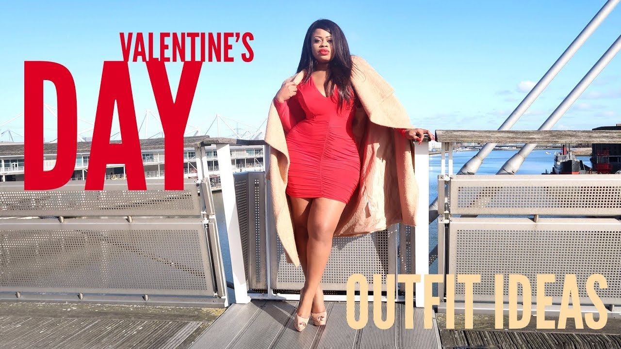 Plus Size | Valentine\'s Day Outfit Ideas, Try On & Look Book | Edee ...