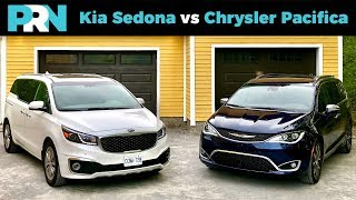 Kia Sedona vs Chrysler Pacifica | TestDrive Spotlight