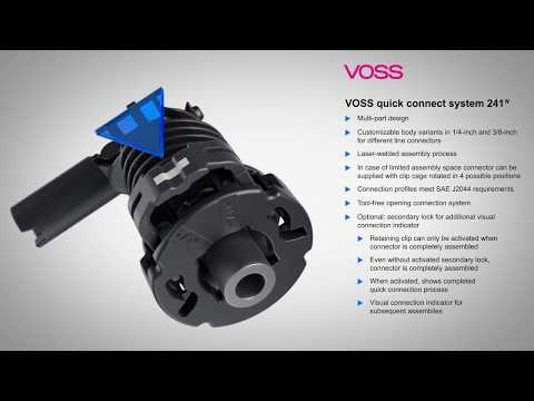 VOSS Quick Connect System 241N