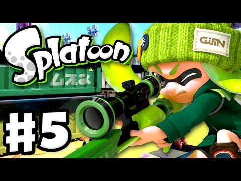 Splatoon - Gameplay Walkthrough Part 5 - Classic Squiffer! (Nintendo Wii U)