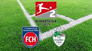 2. Bundesliga Check 2018 | 1. FC Heidenheim - Greuther Fürth (Folge 7)