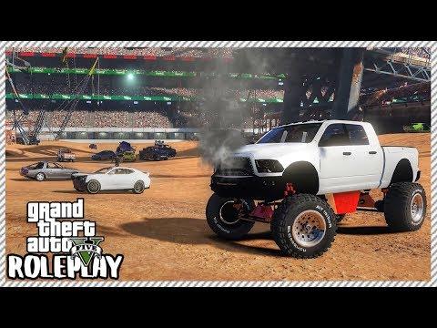 GTA 5 Roleplay - Epic Car Demolition Derby Event | RedlineRP #236