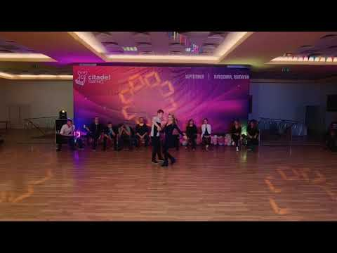 Philipp Wolff & Izabella Kowalska - Citadel Swing 2018 - 4th place All Star Jack&Jill