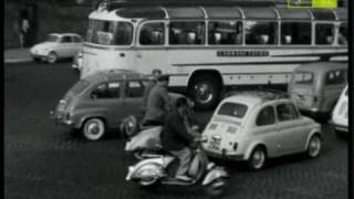 Da Rai storia cento all'ora il traffico a Roma anno 1961 1 parte