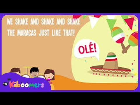 Cinco de Mayo for Kids  Cinco de Mayo Song  Cinco de Mayo Music  The Kiboomers